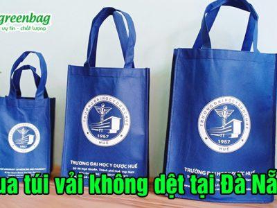 Mua túi vải không dệt đựng quần áo tại Đà Nẵng