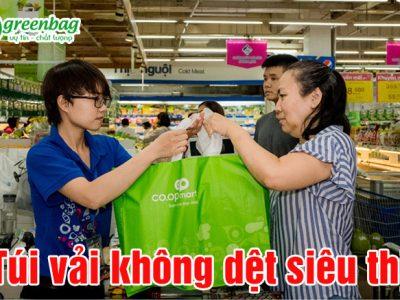 Túi vải không dệt siêu thị