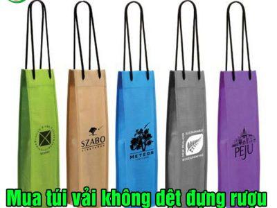 Mua túi vải không dệt đựng rượu tại Biên Hòa