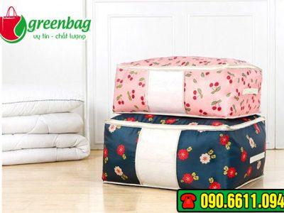 Túi vải không dệt đựng chăn ga