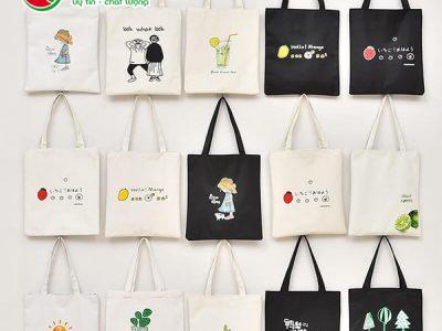 Xưởng in túi canvas giá rẻ theo yêu cầu tại TPHCM
