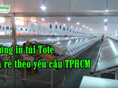 In túi tote giá rẻ theo yêu cầu TPHCM