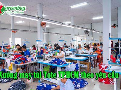 Xưởng may túi tote TPHCM