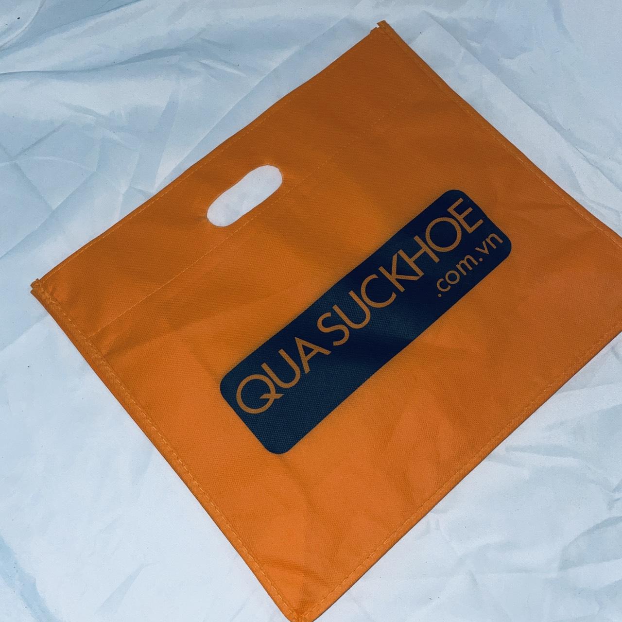 mẫu túi vải không dệt in logo